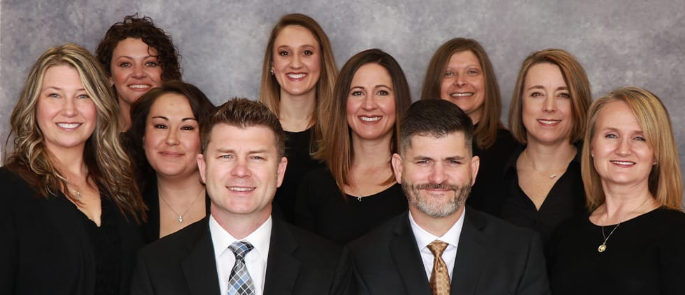 The South Ridge Dental team